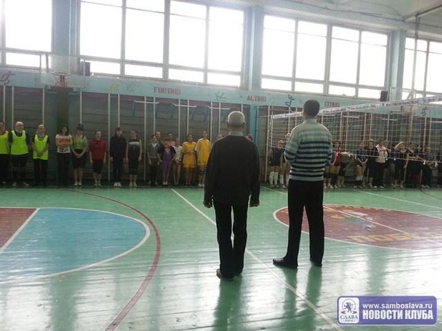 Девушки показали зрелищный волейбол
