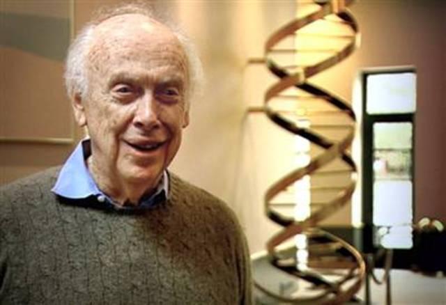 Nombramiento de Dr.Watson como director de la oficina de investigación del genoma humano