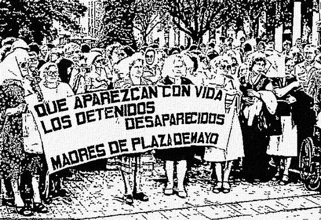 Argentina, Madres y  Abuelas de la Plaza de Mayo