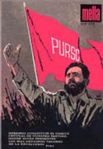 Creación del partido unido de la revolución