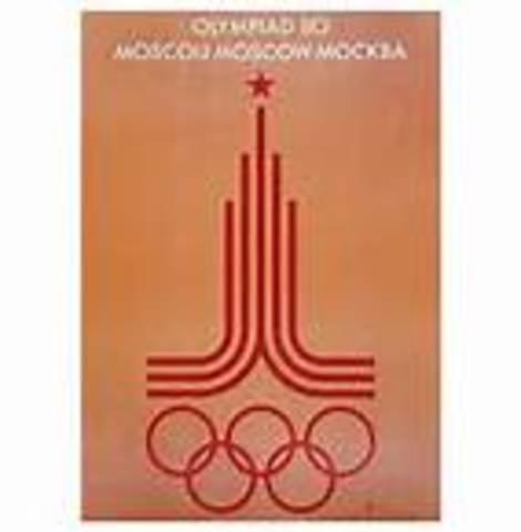 Boicot a los JJOO de Moscú
