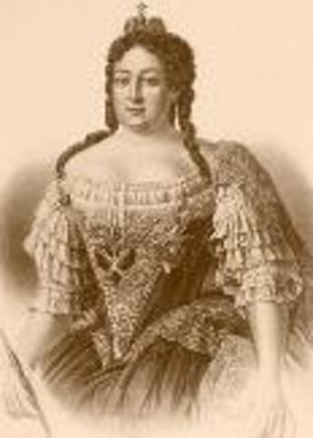 Анна Ивановна (28.01.1693-17.10.1740)