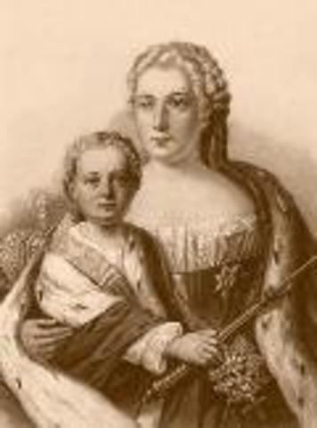 Иван VI Антонович Романов (12.08.1740-05.07.1764)