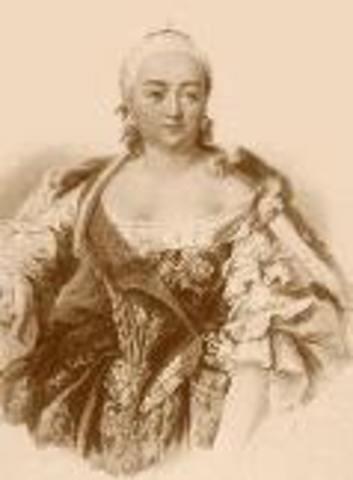 Елизавета Петровна Романова (18.12.1709- 25.12.1761)