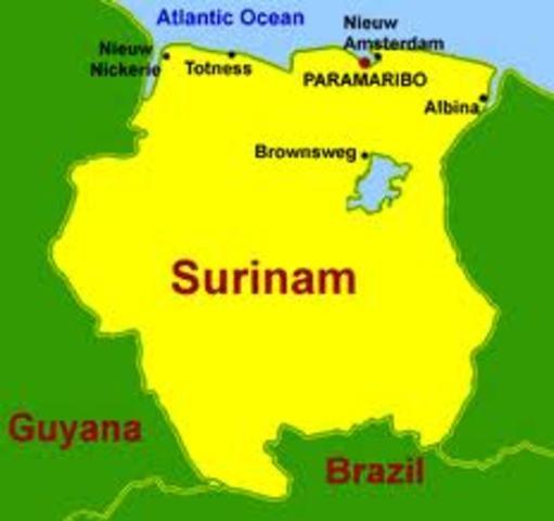Surinam : Declaracion