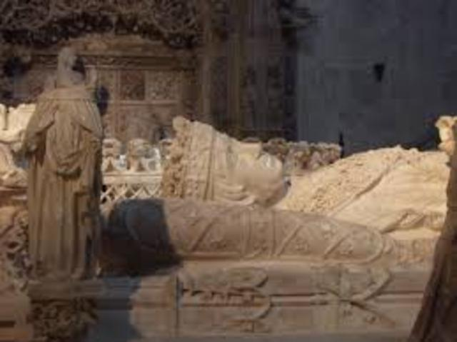 Muerte del Rey Juan II de Castilla