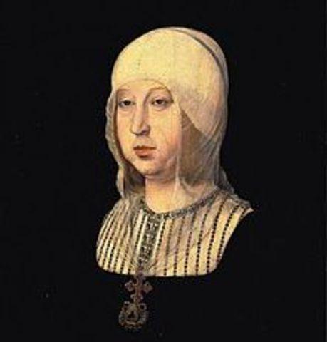 Enrique IV reconoce a Isabel  la católica como su heredera