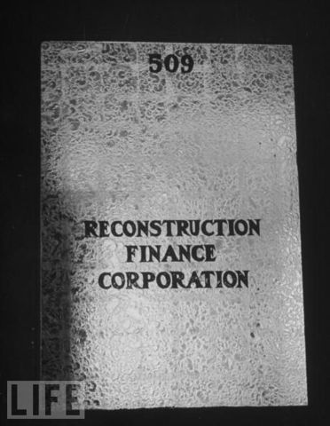 Reconstruction Finance Corporation
