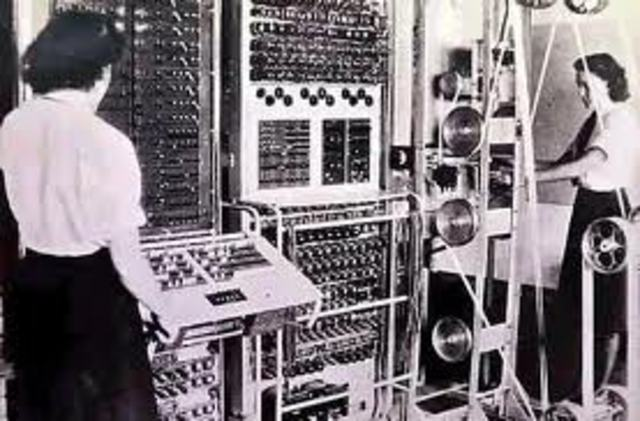 First Electronic Computer