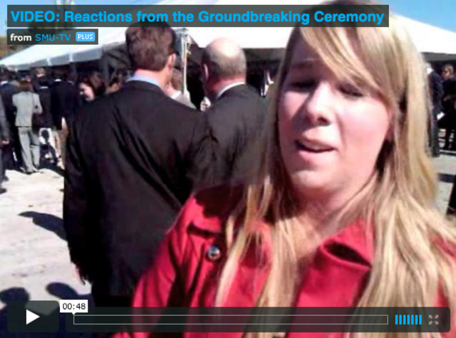 WATCH: Reactions from Groundbreaking Ceremony