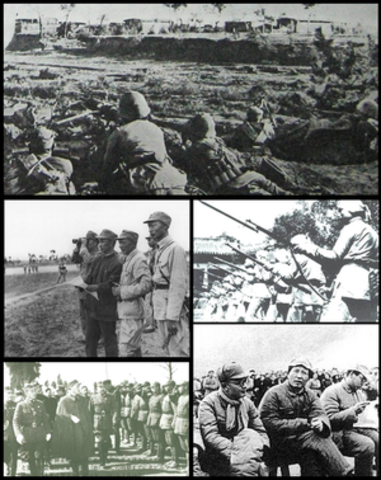 Nationalist and Communist China resume the activities of the Civil War.