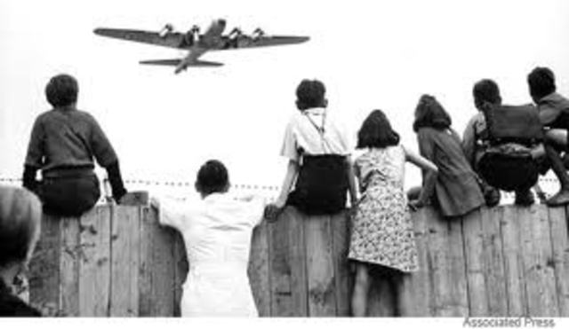 The Berlin Blockade is a crisis that was borne out of the Cold War and lasts for 11 months.