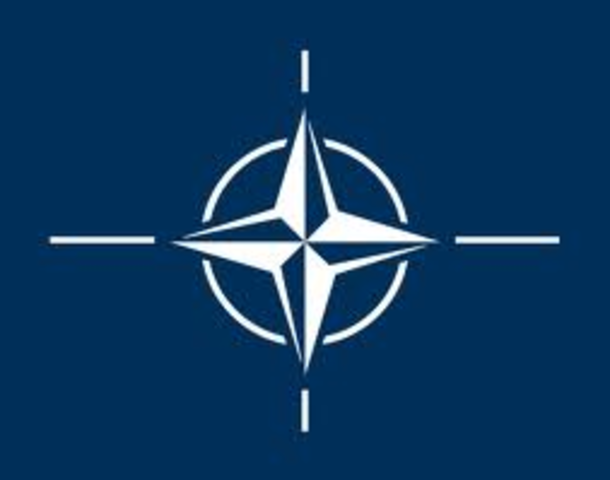 The formation of NATO is ratified.