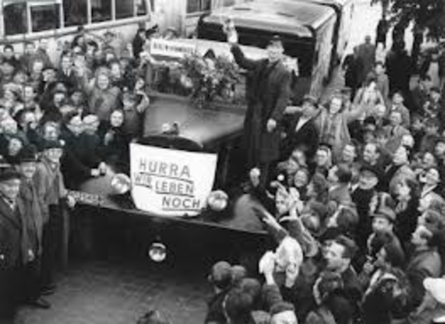 The Berlin Blockade comes to an end.