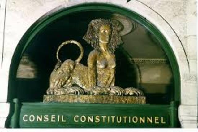 Position du Conseil Constitutionnel