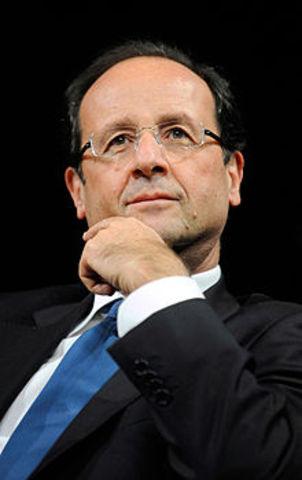 Le candidat Hollande