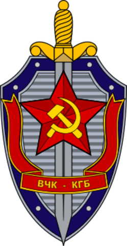 The Soviet Union create their own national security agency, the KGB (Committee for State Security).