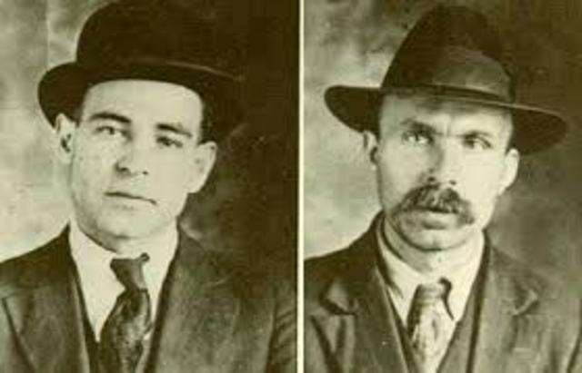 Ferdinando Nicola Sacco and Bartolomeo Vanzetti