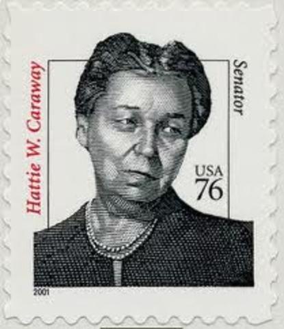 First Female U.S. Senator