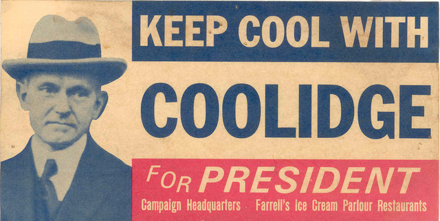 The Election of Coolidge