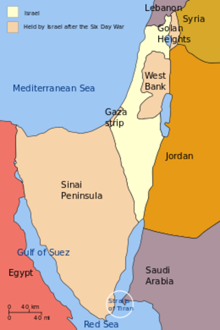 The Six Day War is Israel's invasion of the Sinai Peninsula in response to Egyptian aggression.