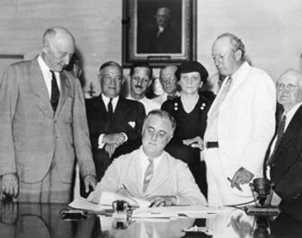 Neutrality Acts passed by US Congress