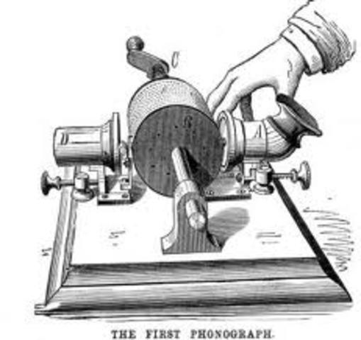PHONOGRAPH - Thomas Alva Edison - Part 1