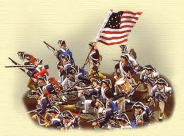 American Revolution starts