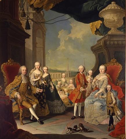 Maria Theresa dies
