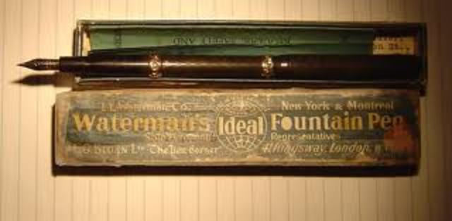 FOUNTAIN PEN - Lewis E. Waterman - Part 3