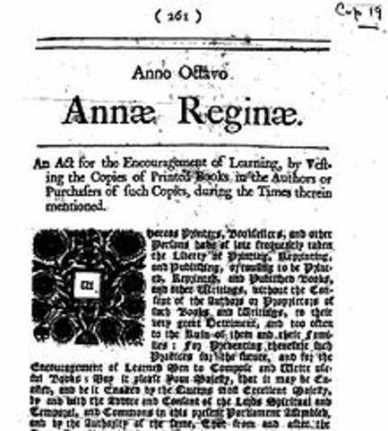 Statute of Anne: 1710