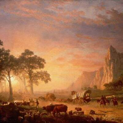 The Westward Expansion/ Frontier timeline