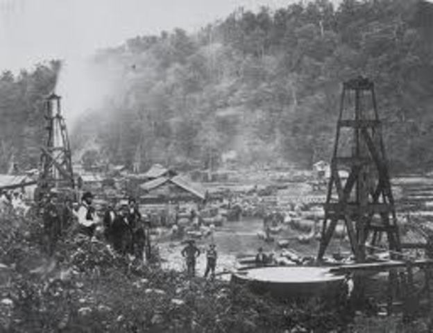First Productive Commercial Oil Well