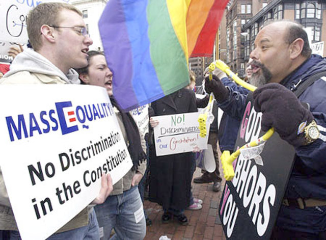 Massachusetts Legalizes Gay Marriage