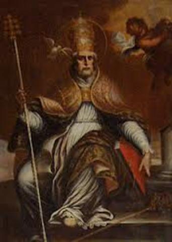 Naixement de Gregori I El Magne