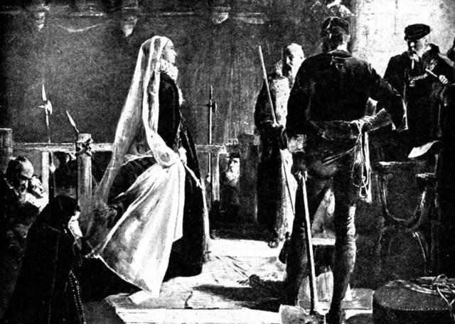 Queen Elizabeth I executes Mary, Queen of Scots