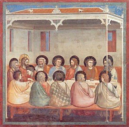 The Last Supper-Giotto