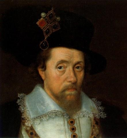 James VI of  Scotland becomes James I of  England uniting the two kingdoms