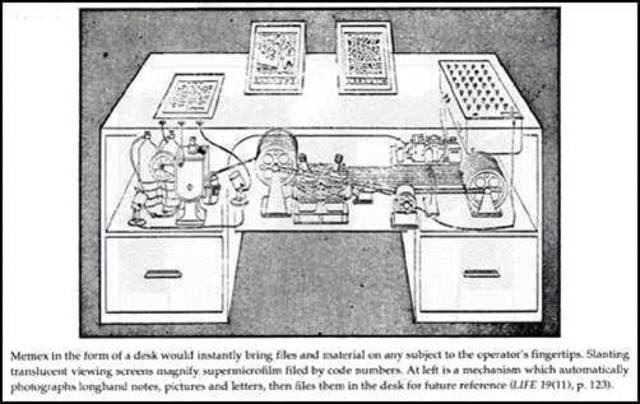 Vannevar Bush - Artículo: As we may think