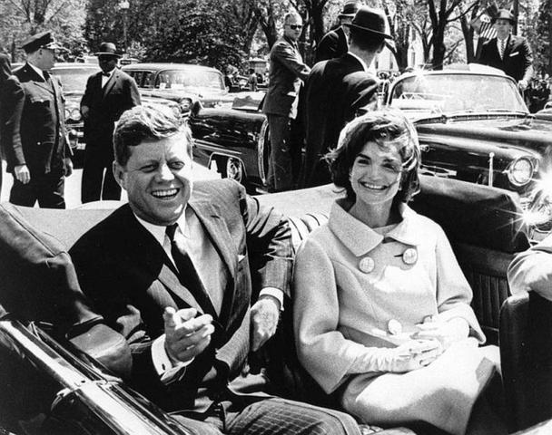 John F. Kennedy is Assasinated