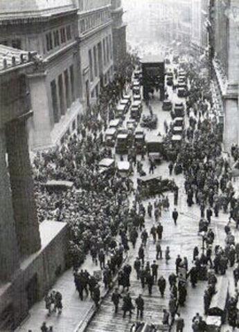 Stock Market Crash (black Tuesday)