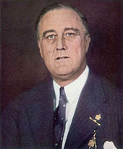 Franklin D. Roosevelt Becomes President