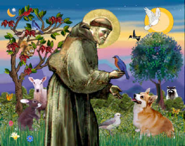 St. Francis of Assisi (1182-1226) founded Franciscans