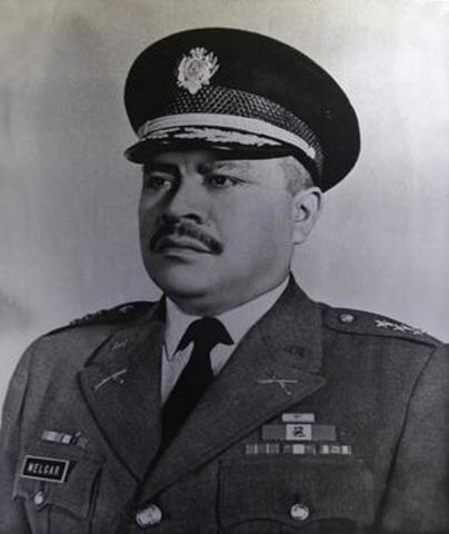 Juan Alberto Melgar Castro 1972-1975