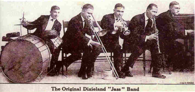 "The Orginal Dixieland Jass Band Records The First Jazz Record - ""Livery Stable Blues"""