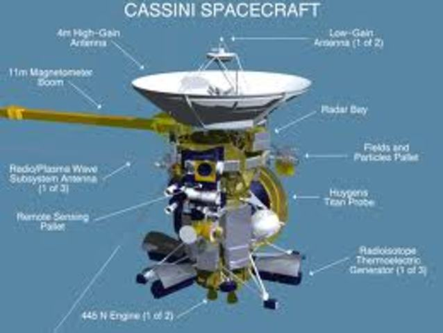 Cassini Mission is launched