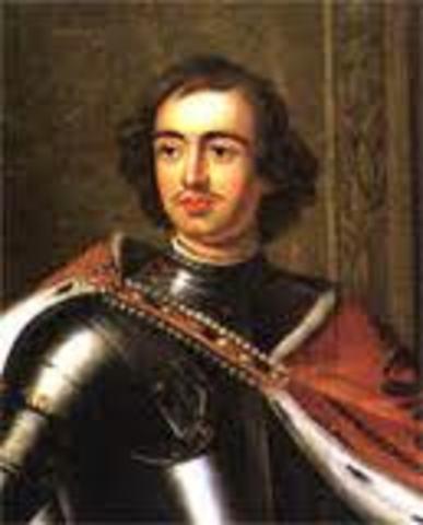 6 weak successors follow Peter The Great.