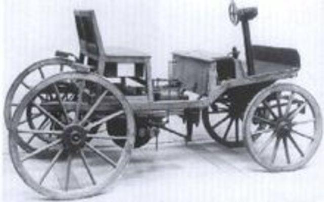 Первый двигатель вн. сгорания