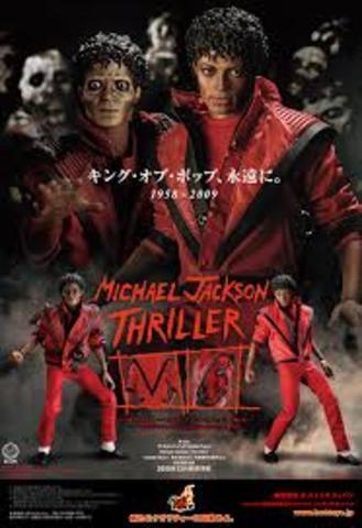 Выпущен альбом «Thriller», которому суждено стать самым продаваемым альбомом в мире.