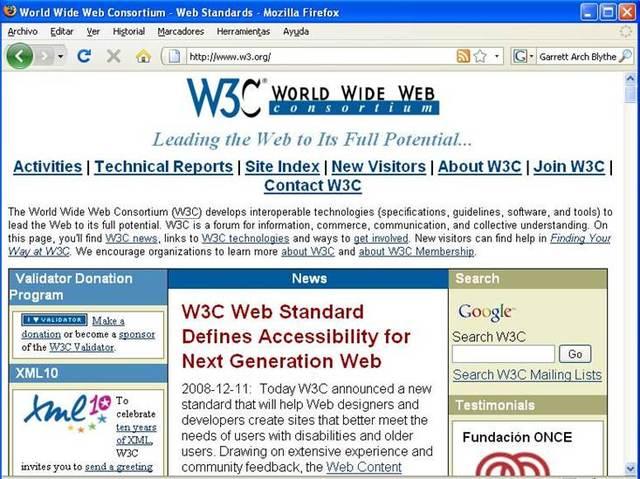 Nace el consorcio W3c